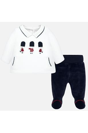 NUTCRACKER VELOUR PANT SET