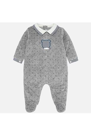 BEAR VELOUR ONESIE