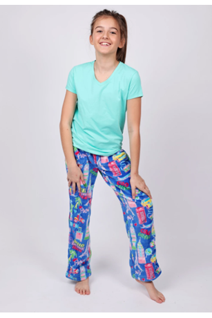 GIRL'S TRAVEL PANT