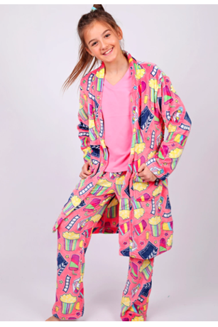 GIRL'S MOVIE ROBE