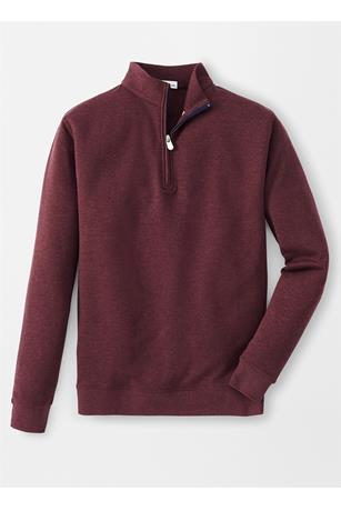 INTERLOCK QUARTER-ZIP