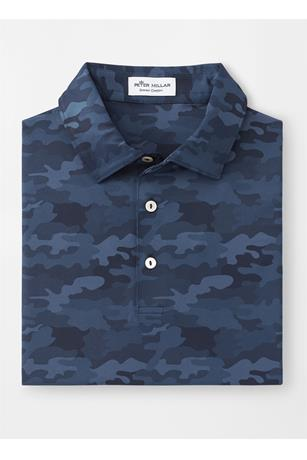 HAYMAKER PRINTED CAMO PERFORMANCE POLO