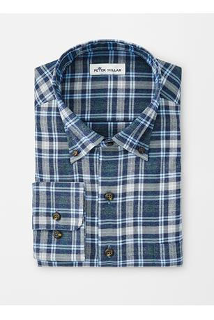 PERFORMANCE FLANNEL DOUGLAS CHECK WOVEN