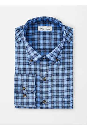 PERFORMANCE FLANNEL HUNTER CHECK WOVEN