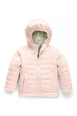 TODDLER GIRLS REVERSIBLE MOSSBUD JACKET