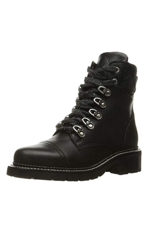 SAMANTHA HIKER SHEARLING COMBAT BOOT