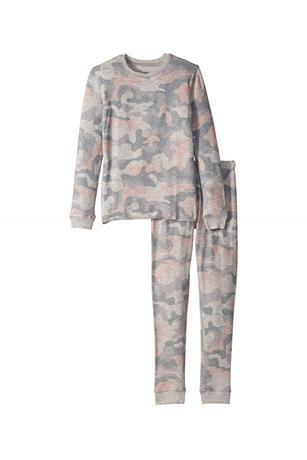 GIRL'S CAMO WEEKEND LOVE JAMMIES