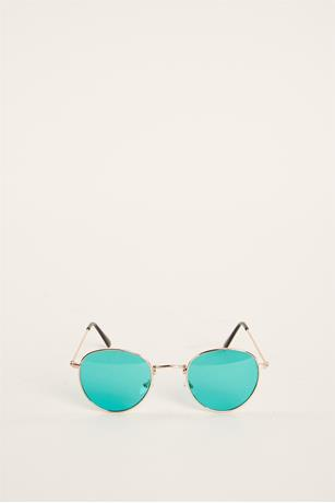 Small Aviator Sunglasses GREEN