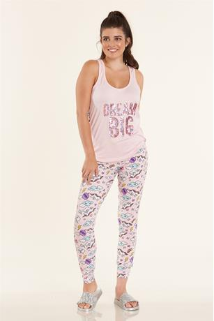 Dream big Pajama Set PINK