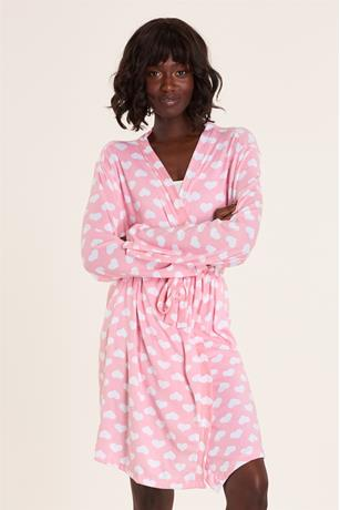 Sleep Late Robe PINK