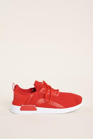 Athletic Mesh Sneakers RED