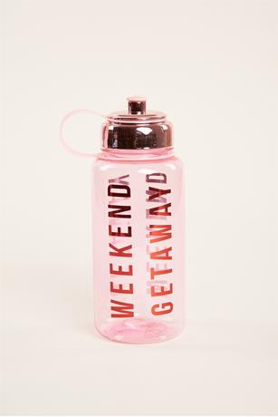 Weekend Water Bottle PINK