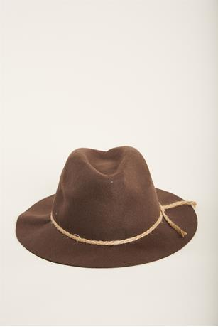 Panama Felt Hat BROWN