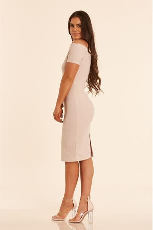 Bodycon Dress TAUPE