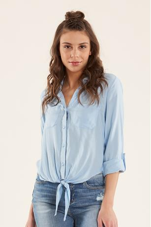 Shadow Stripe Shirt BLUE