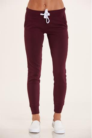 Fleece Joggers BURGANDY