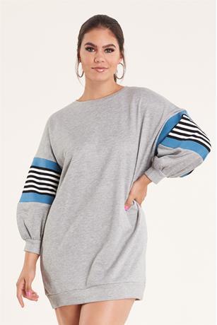 Sweatshirt Dress HEATHER