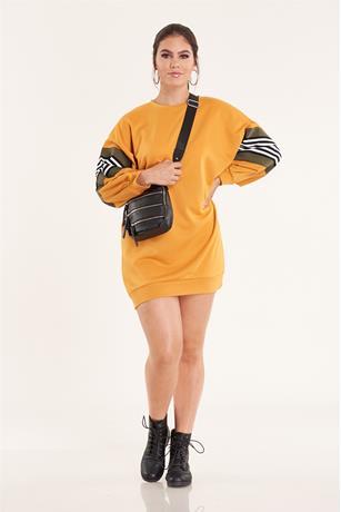 Sweatshirt Dress MUSTARD
