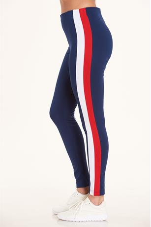Striped Leggings NAVY
