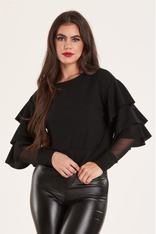 Tier Sleeve Top