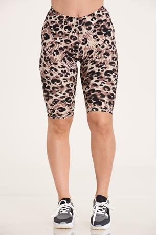 ANIMAL PRINT BIKE SHORT
