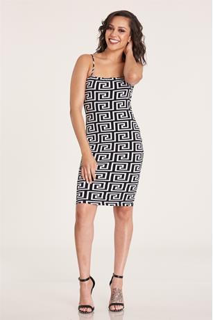 Print Tank Midi Dress