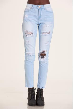 YMI Mid Rise Jeans LIGHT WASH