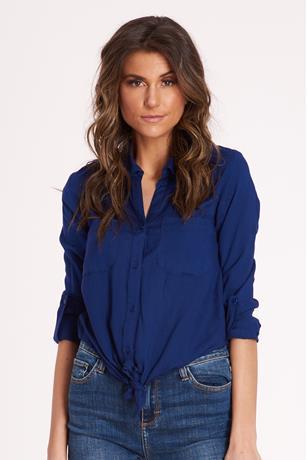 Shadow Stripe Shirt ROYAL