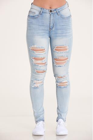 Machine Ripped Skinny Jean