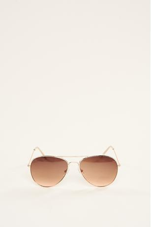 Basic Aviator Sunglasses ROSE GOLD