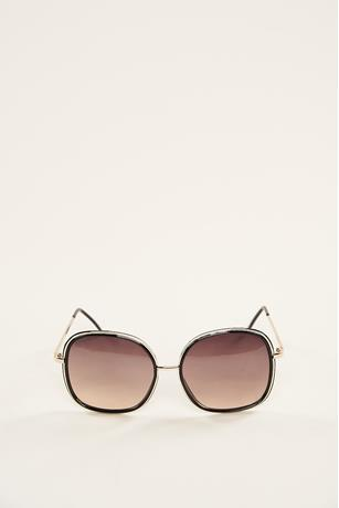 Outline Trim Sunglasses GOLD