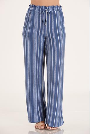 Brushed Knit Pants   BLUE