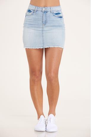 Almost Famous Denim Skirt