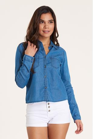 Denim Shirt MED WASH