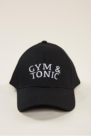 Gym Baseball Cap BLACK