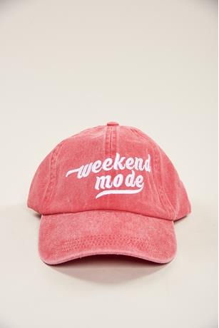 Weekend Mode Denim Cap
