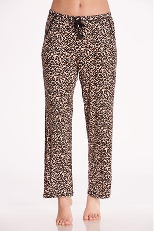 Leopard Pajama Pants