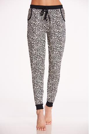 Leopard Pajama Pants LEOPARD