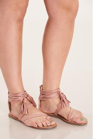 Toe Ring Sandals MAUVE