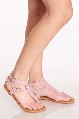 Two Strap Sandals BLUSH