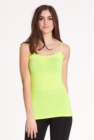 Neon Basic Tank YELLOW