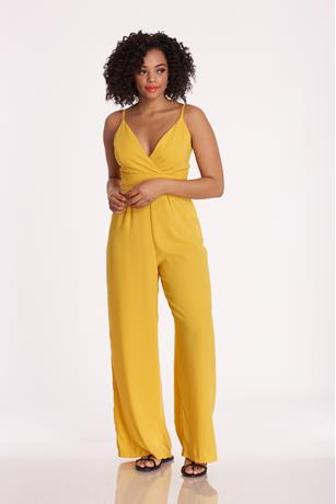 Surplus Wide-Leg Jumpsuit YELLOW