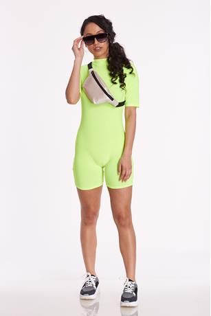 Bike Short Romper  YELLOW