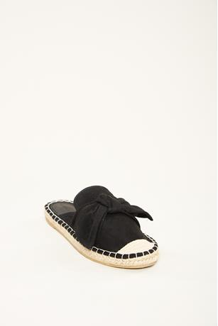 Big Bow Espadrille Mules