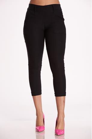 Millennium High Waist Pants BLACK