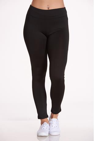 Active High Rise Leggings BLACK