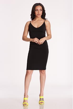 Tank Midi Dress BLACK