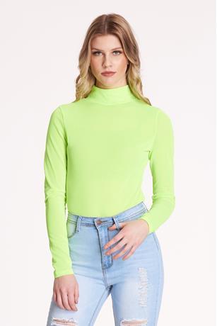 Sheer Mesh Bodysuit GREEN