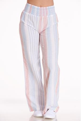 Stripe Smocked Pants