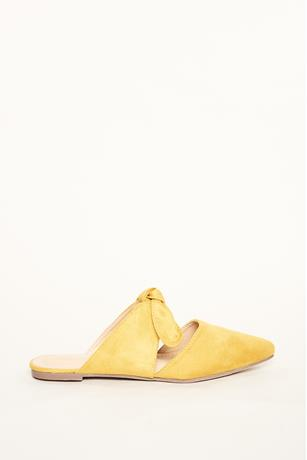 Bow Strap Flats YELLOW